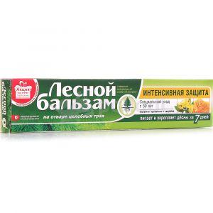 Зубная паста Лесной Бальзам 75 с экстр. прополиса и зверобоя