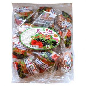Кекс для детского питания с джемом из лесных ягод 500гр Махариши