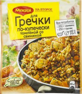 Обед Магги на второе для гречки по-купечески 41 гр