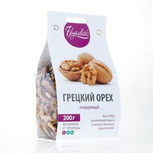 Орех грецкий очищенный 200г (Фрутовит)