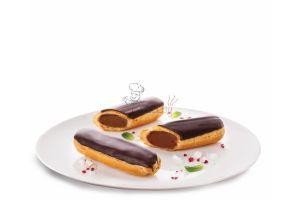 Пирожное Эклер 40гр сливки с шоколадом 5шт