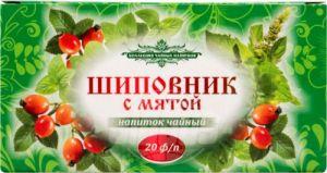 Напиток чайный цветочный Каркадэ с мятой 30г*20п*12 67779