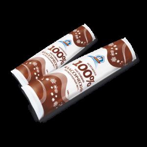 Пломбир шоколадный 1кг ф/п
