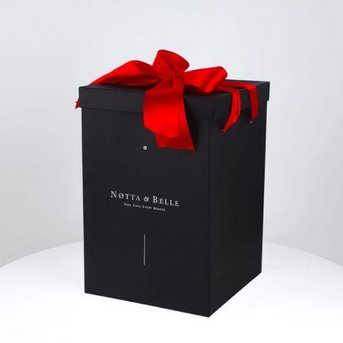 Подарочная коробка для розы в колбе