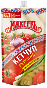 Кетчуп Махеев Русский д/п 500 гр.