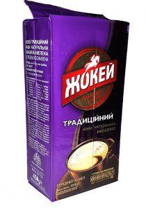 Кофе Жокей традиционный молотый в/с 450г