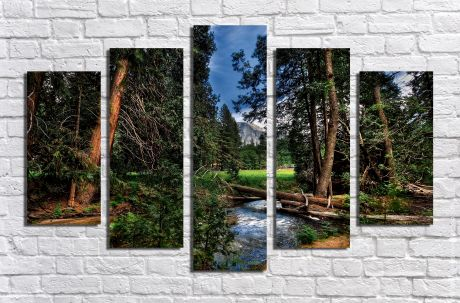 Модульная картина Пейзажи и природа 37