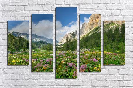 Модульная картина Пейзажи и природа 38