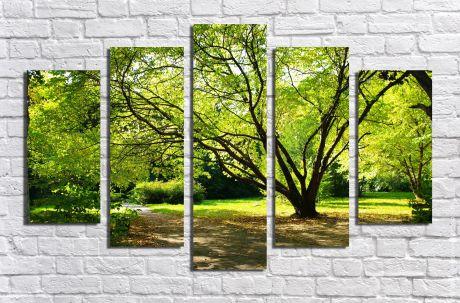 Модульная картина Пейзажи и природа 40