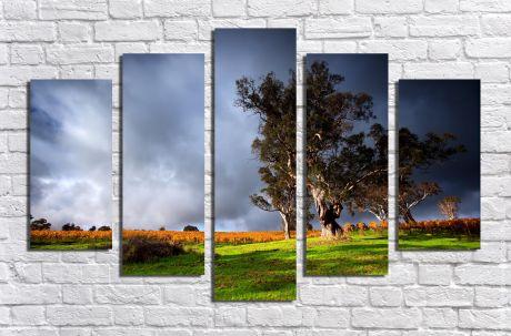 Модульная картина Пейзажи и природа 41