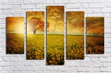 Модульная картина Пейзажи и природа 42
