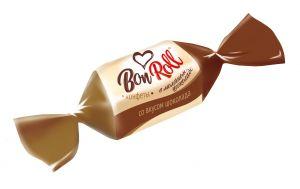 Конфеты Bon Roll Кокосовые Красный Октябрь