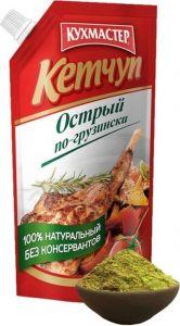 Кетчуп Острый по-грузински Кухмастер, д/п, 260г