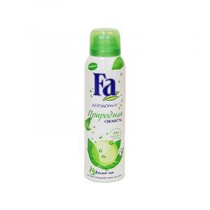 Дезодорант-спрей FA 150мл Природн.свежесть Бел.чай