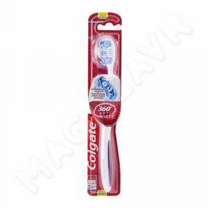Зубная щетка Колгейт 360 Optic White средн.жест.