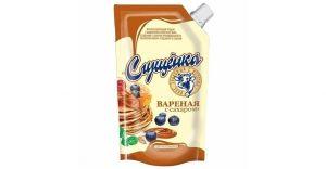 Молокосодержащий продукт Сгущенка с сахаром Кофе 380 г.