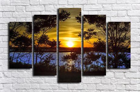 Модульная картина Пейзажи и природа 82