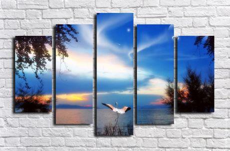 Модульная картина Пейзажи и природа 83