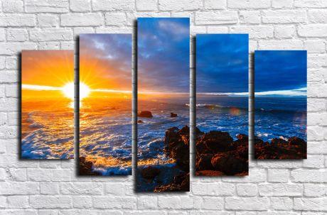 Модульная картина Пейзажи и природа 84
