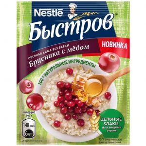 Каша Быстров Брусника Мед 40 гр.