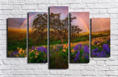 Модульная картина Пейзажи и природа 85