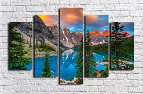 Модульная картина Пейзажи и природа 87