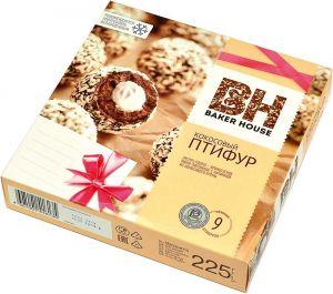 Бисквиты Птифур Baker House 225 гр с кокос. кремом (Раменский)