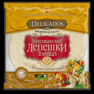 """Лепешки """"DELICADOS-Tortillas"""" 800 гр Оригинальные"""