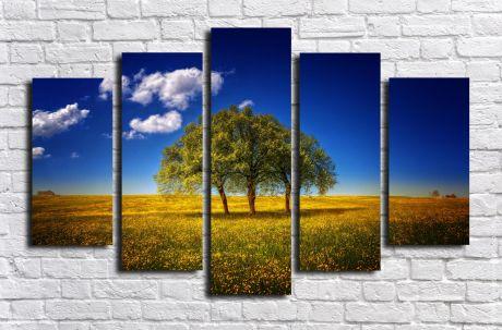 Модульная картина Пейзажи и природа 90