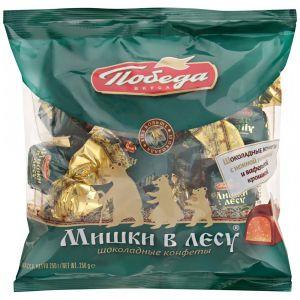 Конфеты шоколадные Мишка в лесу 250г