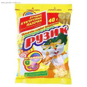 Кукурузные палочки Рузик 40 гр