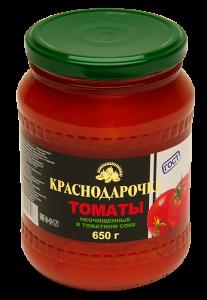 Ассорти Краснодарочка 650гр (томаты+огурцы) марин. ГОСТ с/б твист