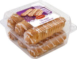 Пирожные Эклеры с крем-брюле 180 гр