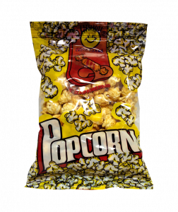 Попкорн 60гр С карамелью (средний формат)