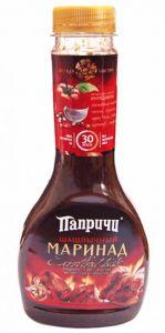 Маринад Универсальный на основе соевого соуса пласт.бут. 400 гр (Папричи-Соусы Деликатесные)