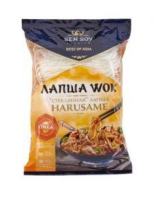 Лапша бобовая HARUSAME WOK для обжаривания (пакет 150 гр) Сэнсой Премиум