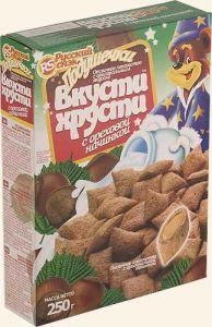 Подушечки с ореховой начинкой 250гр