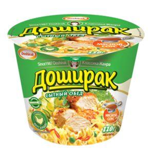Лапша Доширак Сытный обед с кур соус