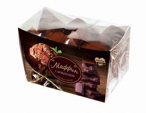 Маффин Русская Нива с шоколадом 160г 1х9