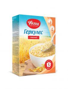 Геркулес с пшеничными отрубями 350гр