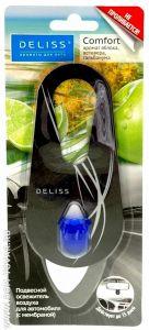 Освежитель воздуха д/автомобиля подвесной DELISS Comfort