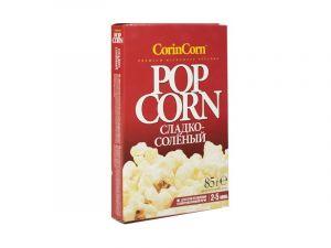 Зерно кукурузы для СВЧ Сметана-лук 85 гр (Corin Corn)