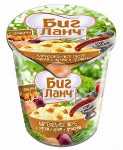 Картоф. пюре с говядиной (стакан) 50 г /24 БИГ ЛАНЧ