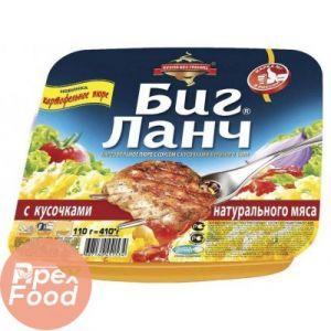 Картоф. пюре с кусочками куриного филе (лоток) 110 г /24 БИГ ЛАНЧ