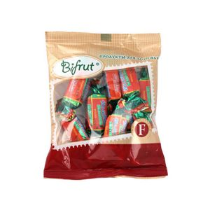 Конфеты Вишня на фруктозе желейн. с шок. глазурью 250гр Bifrut