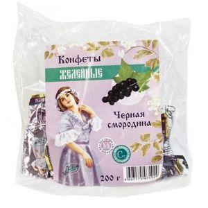 Конфеты жел. Черная смородина с изомальтом со стевией 200гр laFiTOre