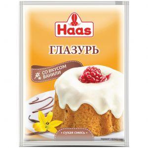 Глазурь HAAS 75г со вкусом Ванили