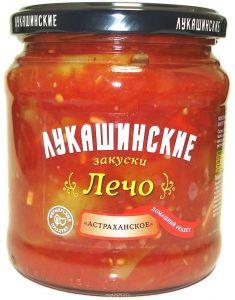 """Лечо Астраханское 480 гр """"Лукашинские"""""""
