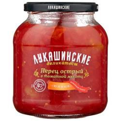 Огурчики в томатной мякоти 950 гр Вес. грядка