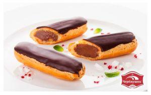 Пирожное Эклер 40гр с шоколадным кремом 5шт